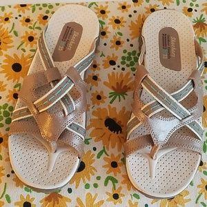 Skechers  tan sandals